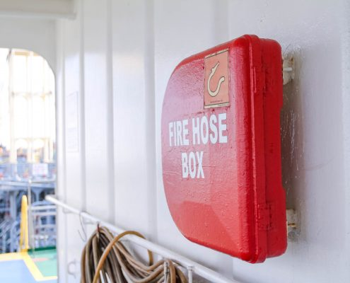 fire extinguisher damen